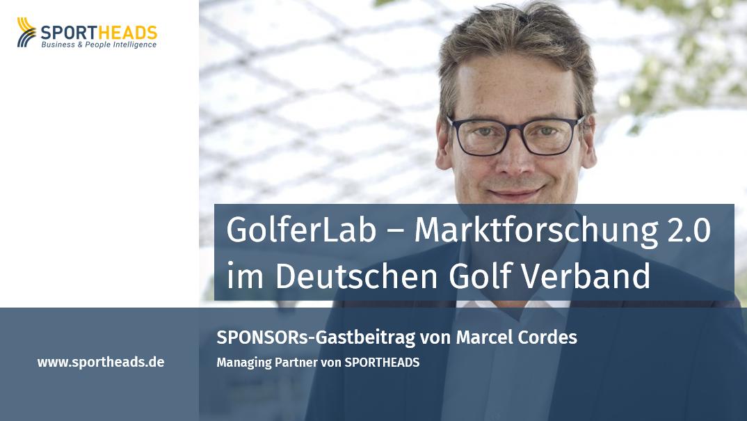 GolferLab – Marktforschung 2.0 im Deutschen Golf Verband