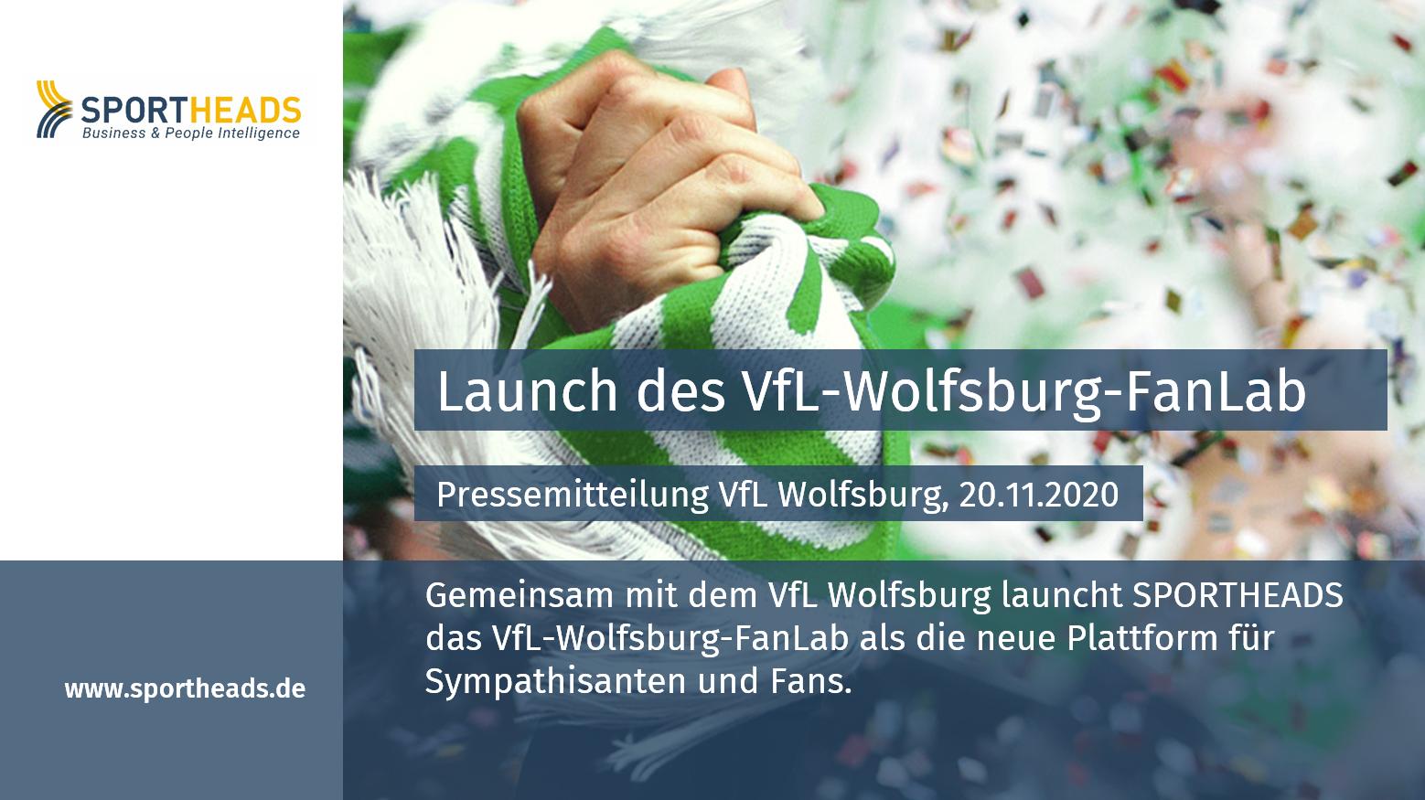 Launch des VfL-Wolfsburg-FanLab