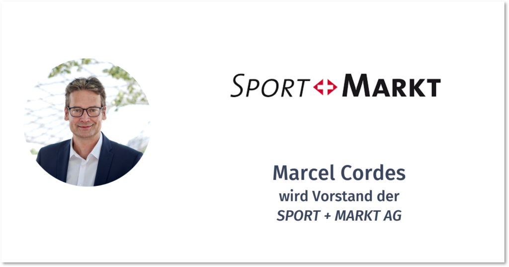 MARCEL CORDES – SPORT + MARKT