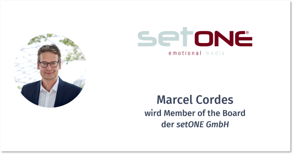 MARCEL CORDES – SETONE