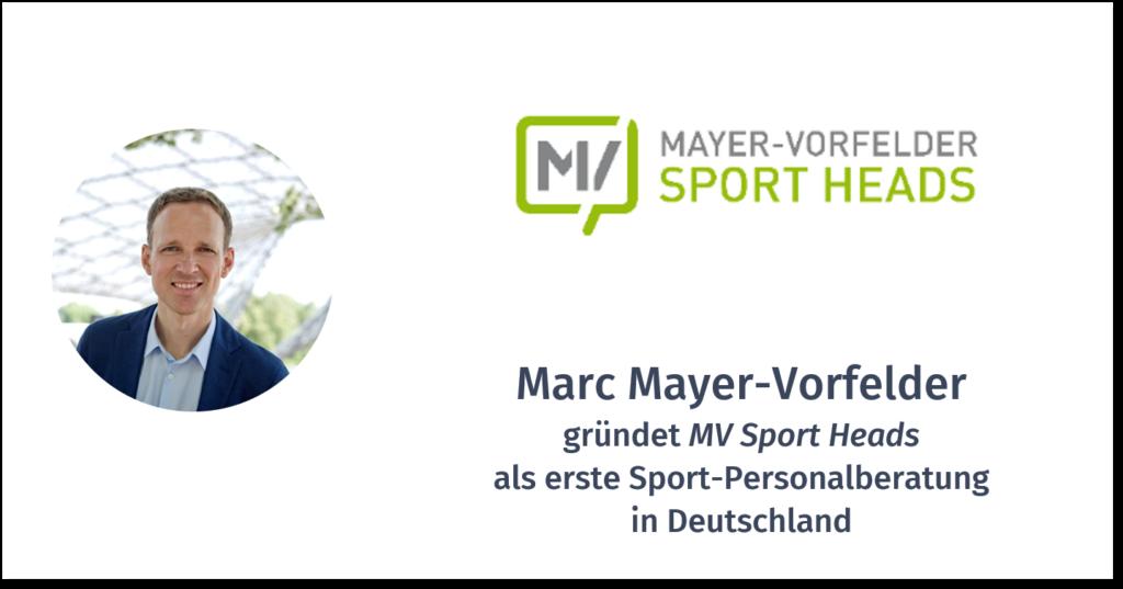MARC MAYER-VORFELDER – MV SPORT HEADS