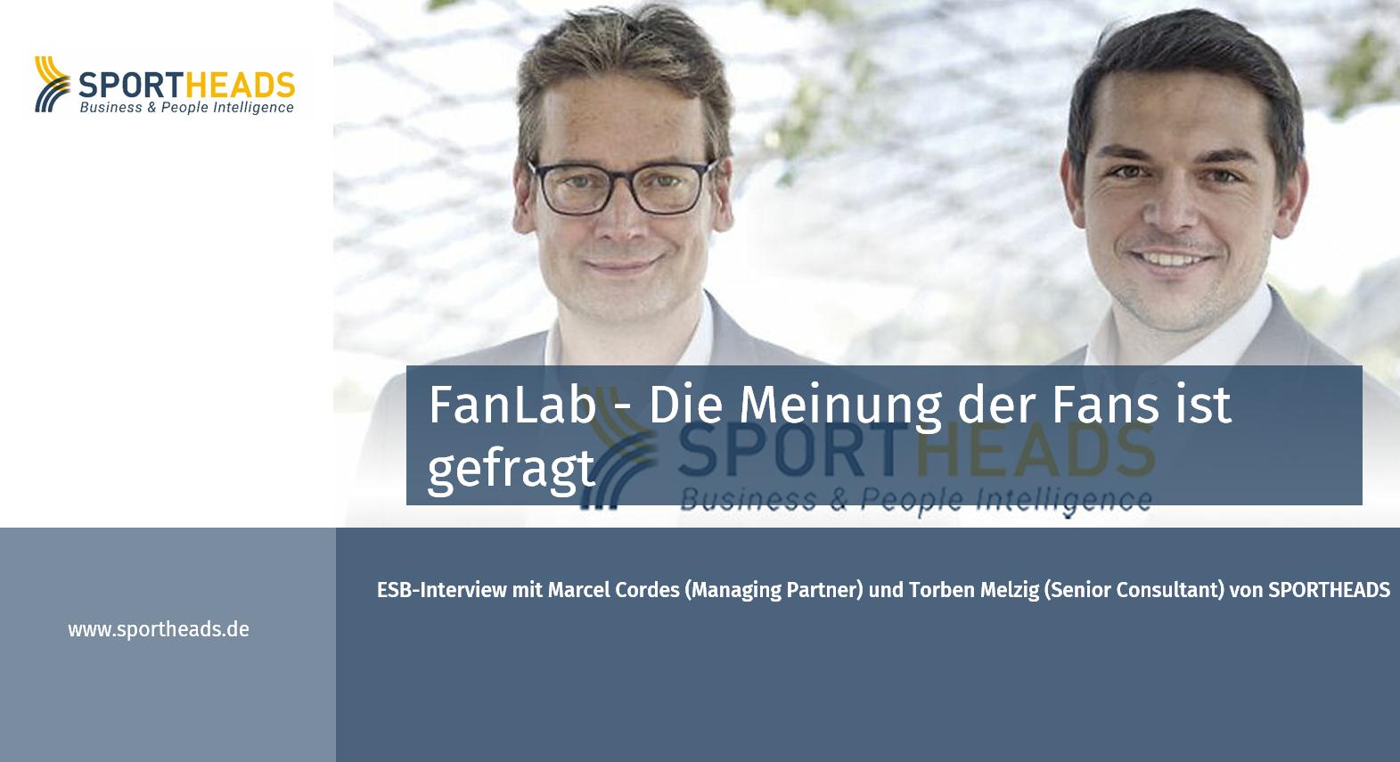 ESB-Interview: FanLab – Die Meinung der Fans ist gefragt