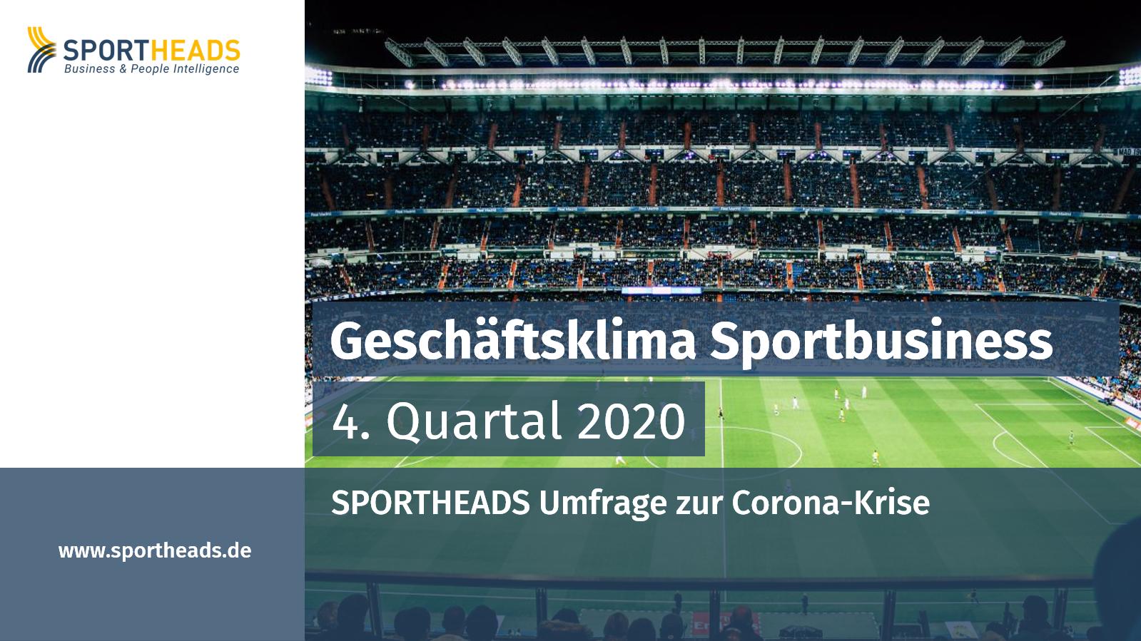 Geschäftsklima Sportbusiness (Q4 2020)